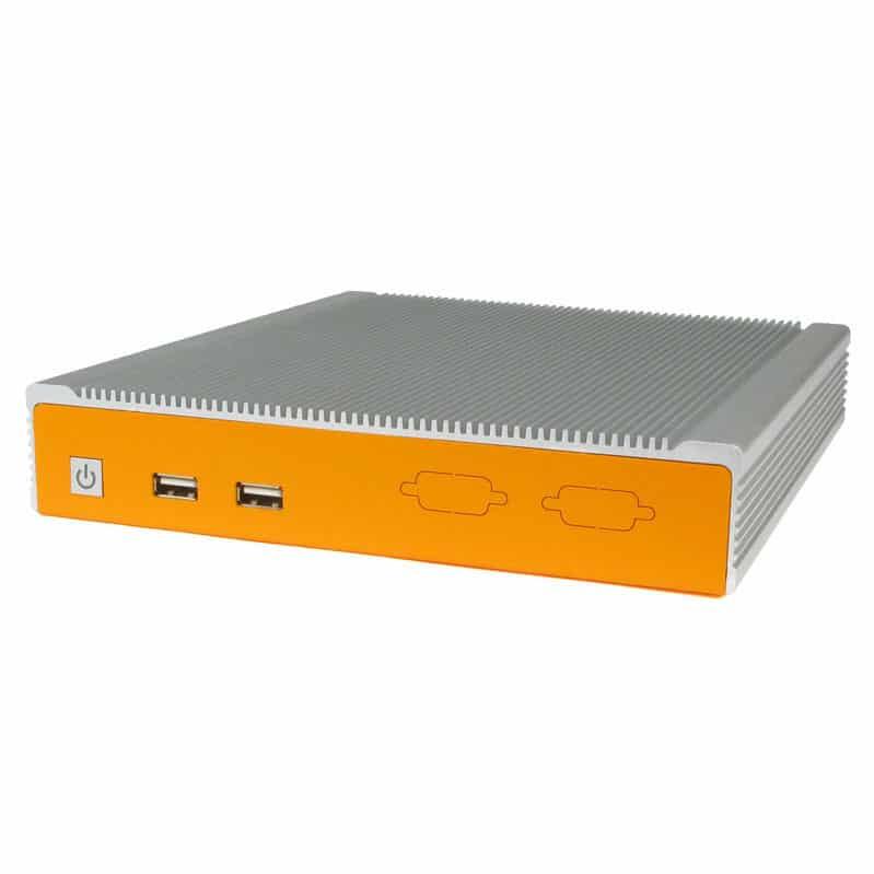 AS-BOX-21010 Lüfterloser Industrie PC im Dauerbetrieb